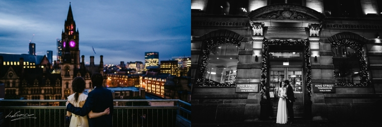 Wedding Photography At King Street Town House In Manchester