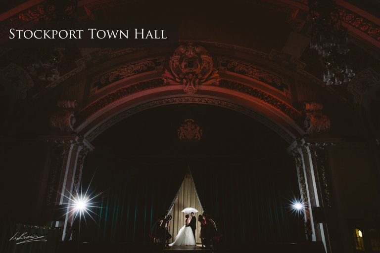 Stockport Town Hall Wedding Photography