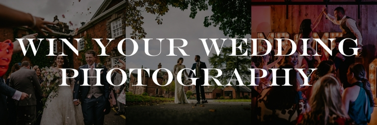 Win your cheshire wedding photography a competition worth £1999